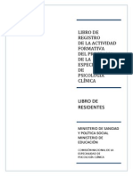 Libro de Residentes Ps. Clinica