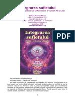"""Integrarea sufletului"" - Editia 1 revizuita si adaugita 2019, de Sal Rachele (Editura Proxima Mundi)"