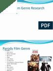 parody film genre research