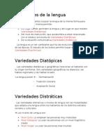 Varied a Des de La Lengua (apunte alumno)
