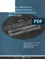 Nuevo Manual Internacional de Musicografía Braille