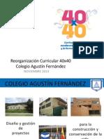 Caso Colegio Agustin Fernandez 40x40