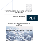 44947113 Proyecto Saponificacion Lab Organica 2
