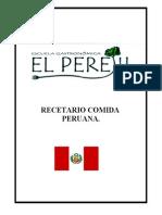 Peru Recetas
