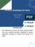 02 - Acceso y Despliegue de Datos