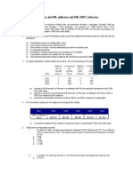 Ejercicios Del PIB y INPC