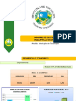 Informe de Gestion Final Desarrollo Economico 2013