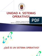 Unidad 4. Sistemas Operativos