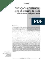 Artigo - 2001 - Uma Abordagem Da Teoria de Estudo Independente - PROVESI