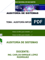 Auditoria Clase 1 Unsm