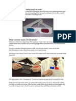 Buat Cermin Mata 3D Dalam Masa 10 Saat