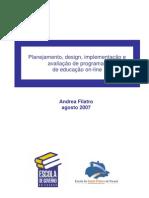 Artigo - 2007 - Design Instrucional Contextualizado - FILATRO