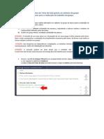 Grupo_procedimentos Cadastro Grupo