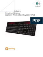 Wireless Solar Keyboard k750 Gsw