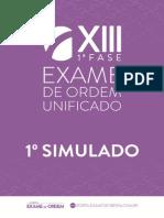 Original 1 Simulado Oab Xiii Ex 1fas