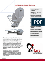 3 SatLite Tech 1511Peloris Flyaway 1.5m