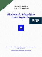 m. Diccionario Italo Argentino