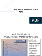 Topic 5 Muscle Aging and Sarcopenia