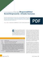 Crisis Economica y Crisis Etica - RSE y Virtudes Humanas