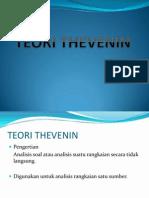 teori dasar listrik thevenin