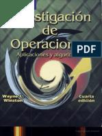 67181050 Investigacion de Operaciones Aplicaciones y Algoritmos Winston Wayne