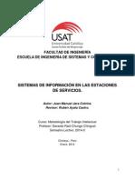 Monografia Sistemas de Informacion Estaciones de Servicio