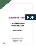 TEMA 1_INTRODUCCION A LA PSICOLOGÍA