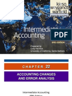 Kieso_Inter_Ch22 - IfRS (Accounting Changes)