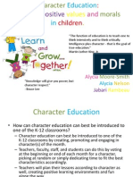 character education ii