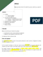 Mediana (estadística)