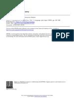Devitt Critique of the Case for Semantic Holism PDF