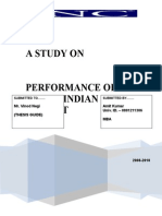 A STUDY ON PERFORMANCE OF IPOS IN INDIAN STOCK MARKET
