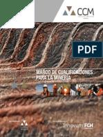 MARCO DE CUALIFICACIONES para la Minería