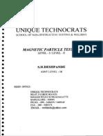 Magnetic Particle Testing (Level i Level II