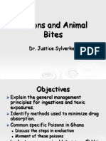 Poisons and Animal Bites Jan2011