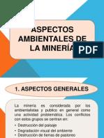 Aspectos Ambientales de La Mineria