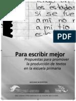 Promover La Produccion de Textos