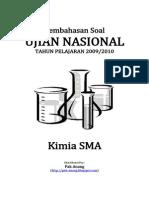Pembahasan Soal UN Kimia SMA 2010(1)