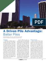 Batter Pile