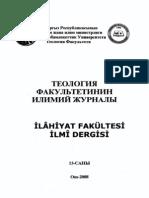 Thesis Studies About Kadıhan in Turkey
