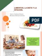 LOS ALIMENTOS, LA DIETA Y LA ALIMENTACIÓN.pptx