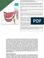 Cuidado de los dientes en niños
