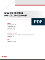 NH3 New KBR Process for Coal to Ammonia