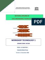 Cec 103.- Workshop Technology 1