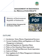 E-Waste Management in Indonesia