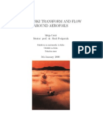 Joukowski Transform and Flow