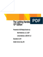 IES Lighting Handbook 10th Edition Primer Slides