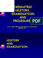 02 Paed History Exam & Procedures-2010
