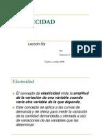 ELASTICIDAD (lección 5ta)