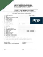 Formulir Beasiswa PPA 2014